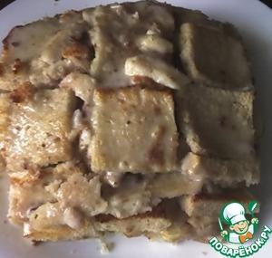 """Рецепт Быстрый горячий сендвичный пирог """"Горка"""""""