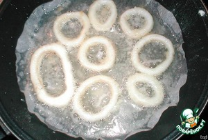 Закусочные колечки – кулинарный рецепт