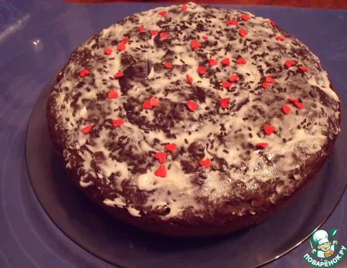 Рецепт: Кекс Шоколадный кабачок