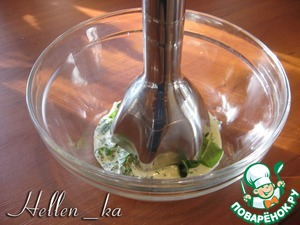 Mint whisk with 1/2 the present of cream with an immersion blender.