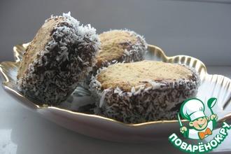 Рецепт: Овсяно-кокосовые печенья