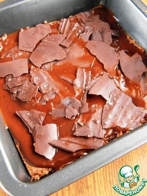 Лепестки соленого шоколада.