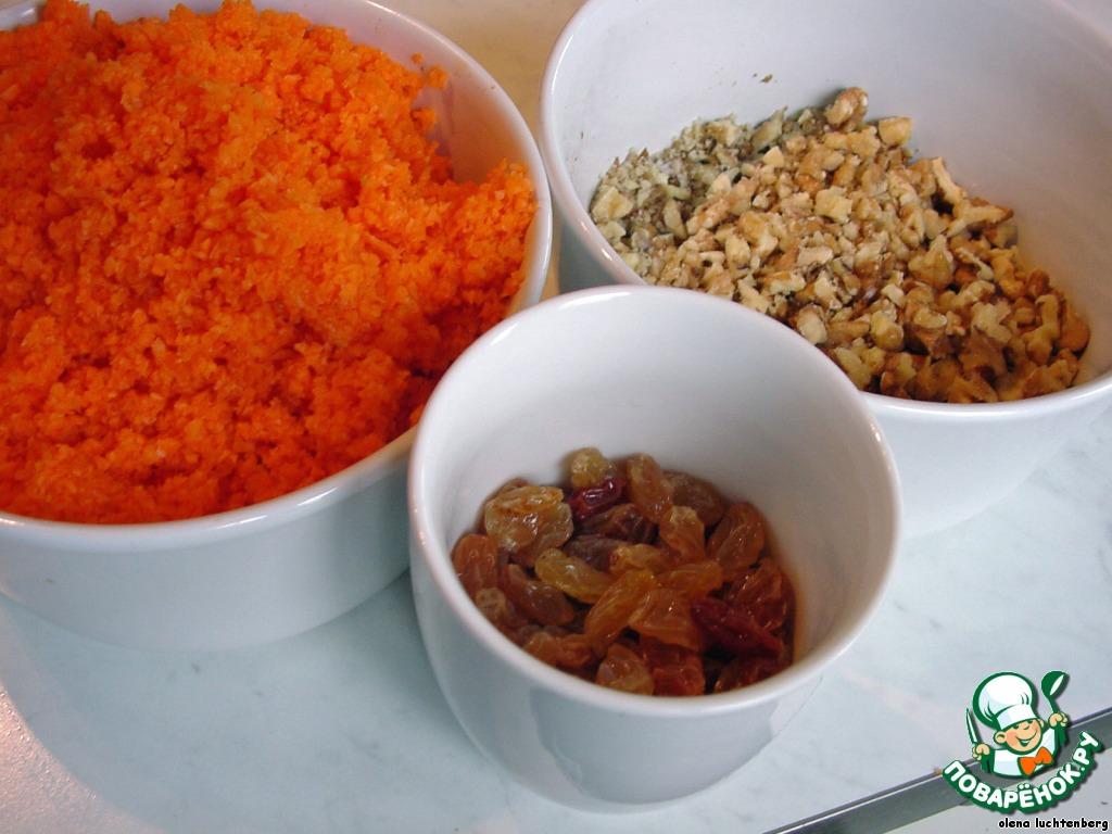 Морковные пирожные с лимонным кремом