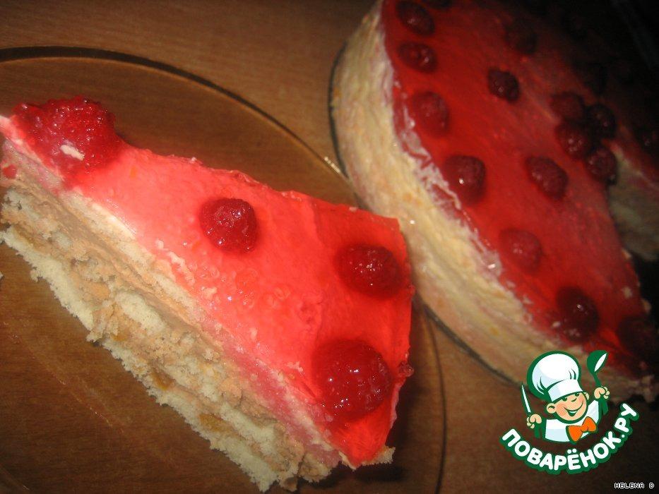 Торт Малинка