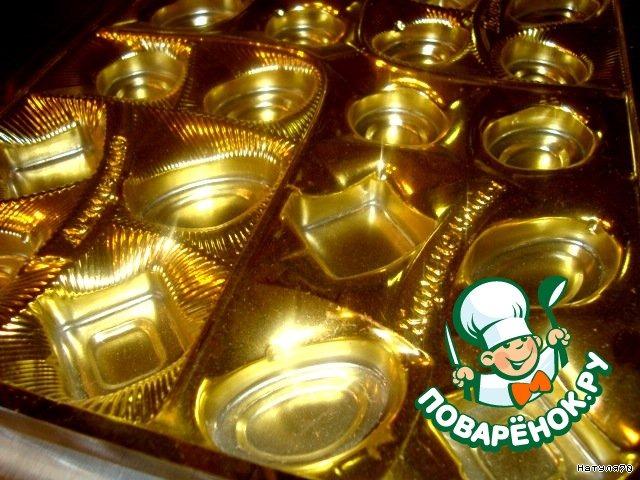 Конфеты из сгущенного молока с орехами