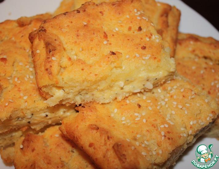 Рецепт: Сырный пирог Приворотный