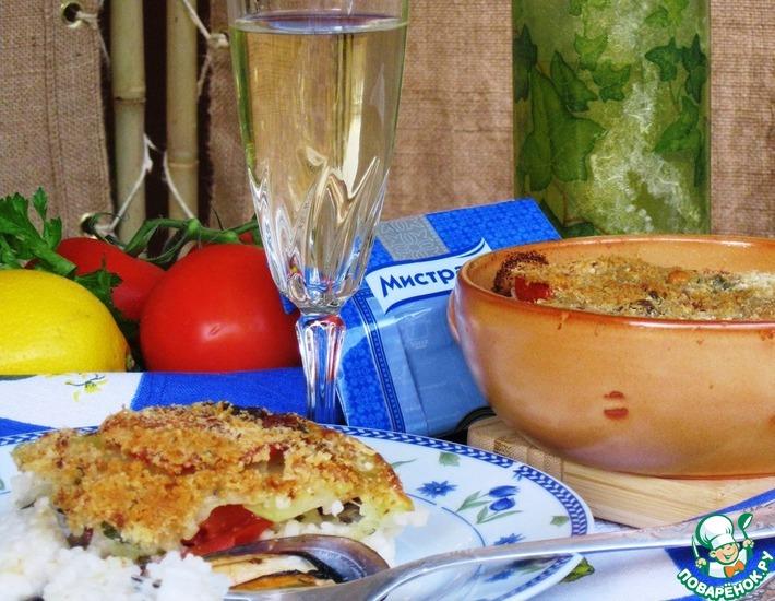 Рецепт: Тиелла из риса, картофеля и мидий
