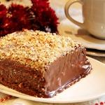Шоколадный торт-десерт