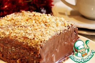 Рецепт: Шоколадный торт-десерт