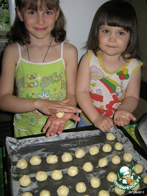 """Печенье """"Одуванчик"""" – кулинарный рецепт"""
