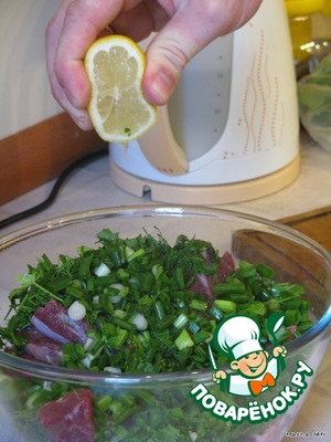 Add the lemon juice.