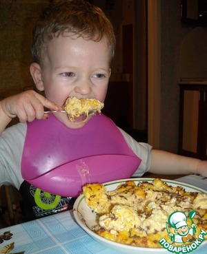 Uletaem for both cheeks! Bon appetit!