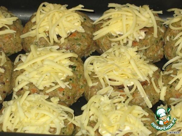 Котлеты с грибами и луком в духовке — pic 6