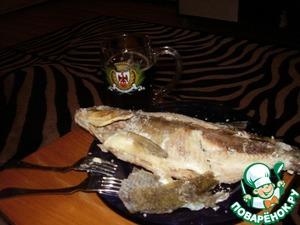 Не бойтесь, рыбка получится слабо соленой, соли возьмет, сколько нужно, и съедается на раз, ваши родные оценят это блюдо, не сомневайтесь.
