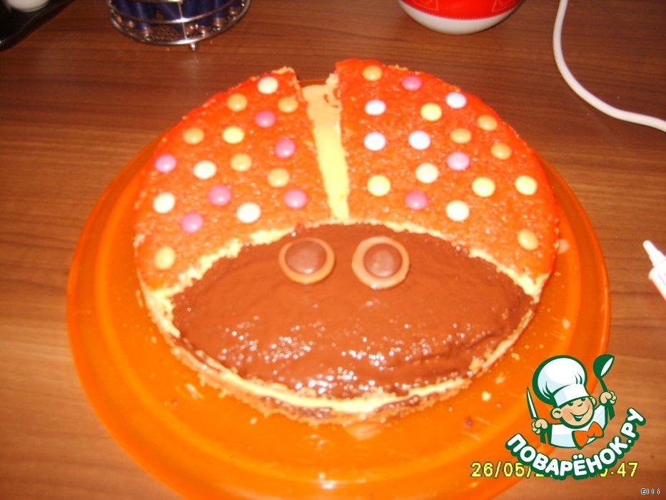 Торт Божья коровка