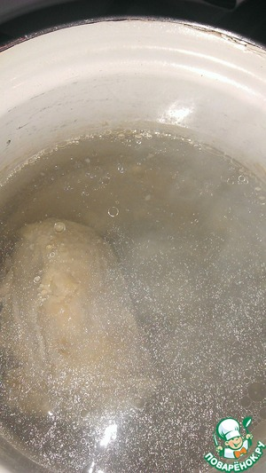 Put to boil the broth