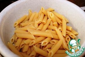 Macaroni boil until soft.