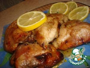 Курица в горчично-медовом соусе – кулинарный рецепт