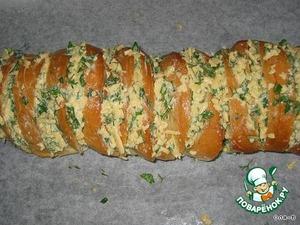 Бутерброды колбасно-сырные с чесноком – кулинарный рецепт