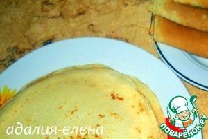 Пирог с фрикадельками и зеленым горошком – кулинарный рецепт