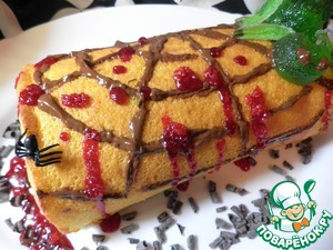 Roll to decorate for Halloween.