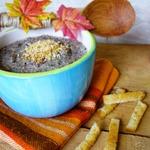 Грибной крем-суп с чесночными гренками Autunno in Italia