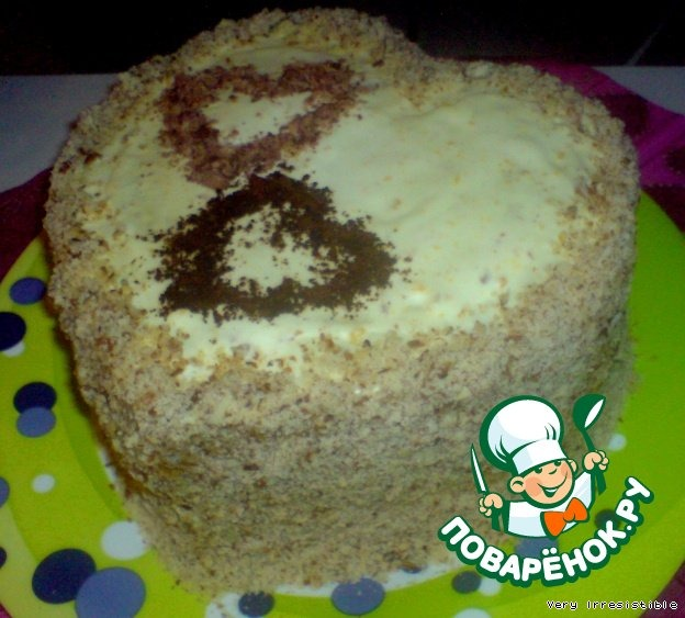 Торт Сердечные поздравления