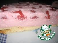 Творожно-йогуртовый десерт с клубникой ингредиенты