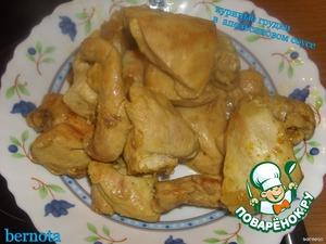 Выкладываем мясо в тарелку,    накрываем фольгой и ставим в тёплое место