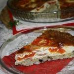 Итальянский томатно-рисовый тарт