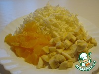 Салат На десерт ингредиенты