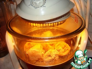 Prepare a dish to feed several variations: fried, in a pan, in the oven, in the steamer. I applied for the preparation of the convection oven.