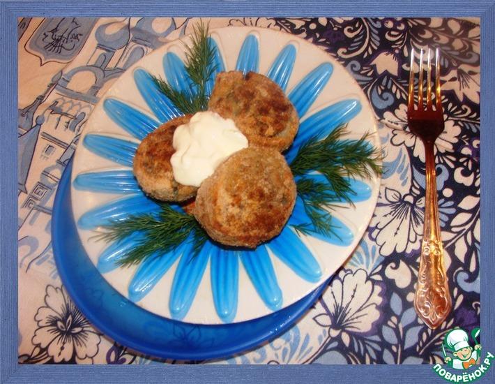 Рецепт: Картофель, фаршированный впрок