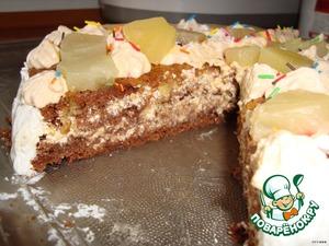 Торт получился очень вкусный.Понравился всем,кто его пробывал.
