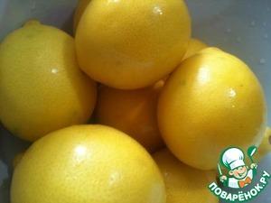 Лимоны хорошо помыть.