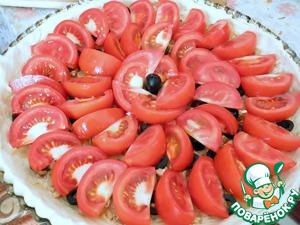 открытый пирог с помидорами   пошаговые рецепты с фото на Foodily.ru