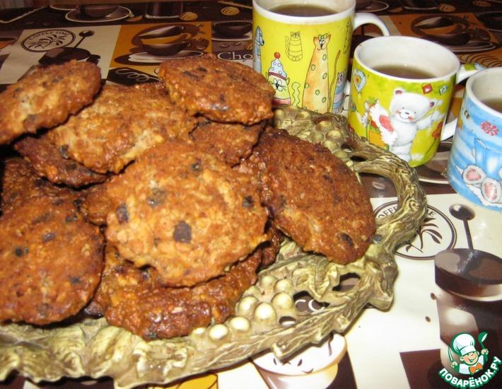 Рецепт: Наивкуснейшее oвсяное печенье