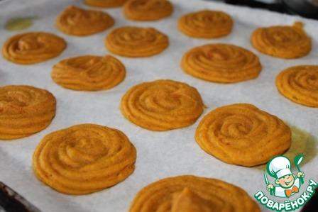 """Тыквенные пирожные со сливочной начинкой """"Аромат Италии"""""""