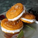 Тыквенные пирожные со сливочной начинкой Аромат Италии