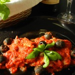 Мясо А-ля пиццайола Carne alla Pizzaiolo