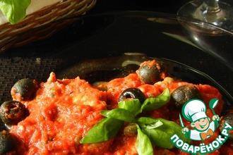 Рецепт: Мясо А-ля пиццайола Carne alla Pizzaiolo