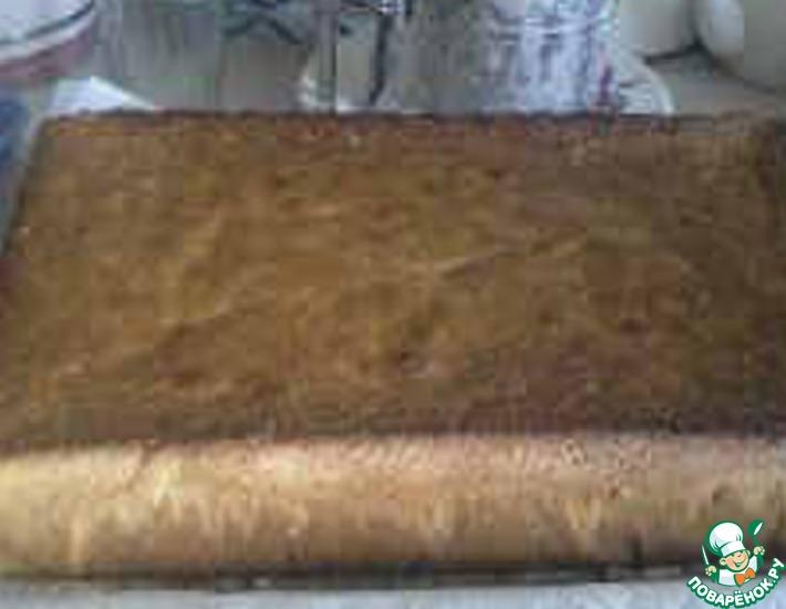 Рецепт: Бабушкин бисквит