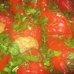 Особый фаршированный болгарский перец, запечённый в духовке