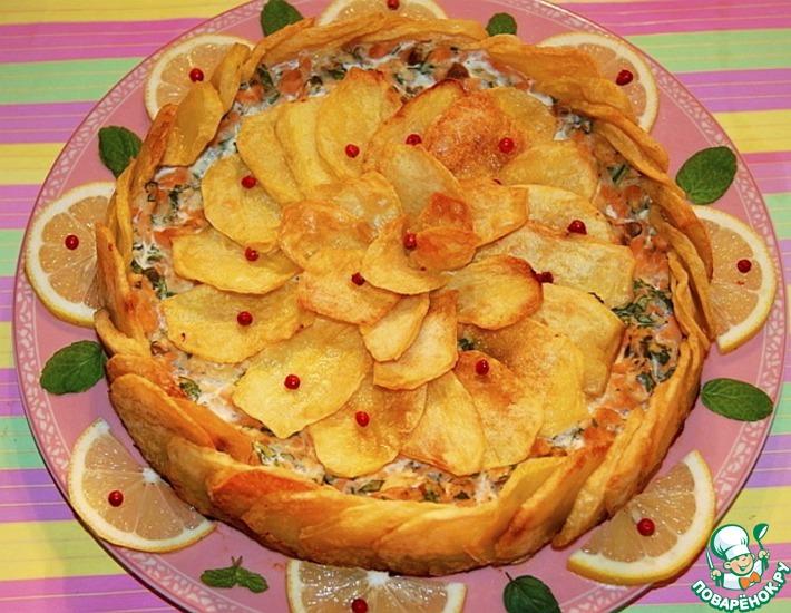 Рецепт: Итальянская картофельная шарлотка