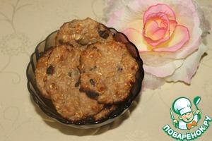 Рецепт Диетическое овсяное печенье