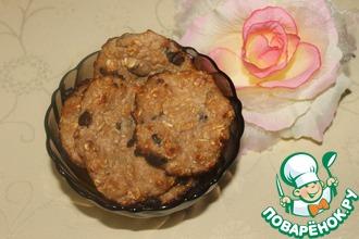 Рецепт: Диетическое овсяное печенье