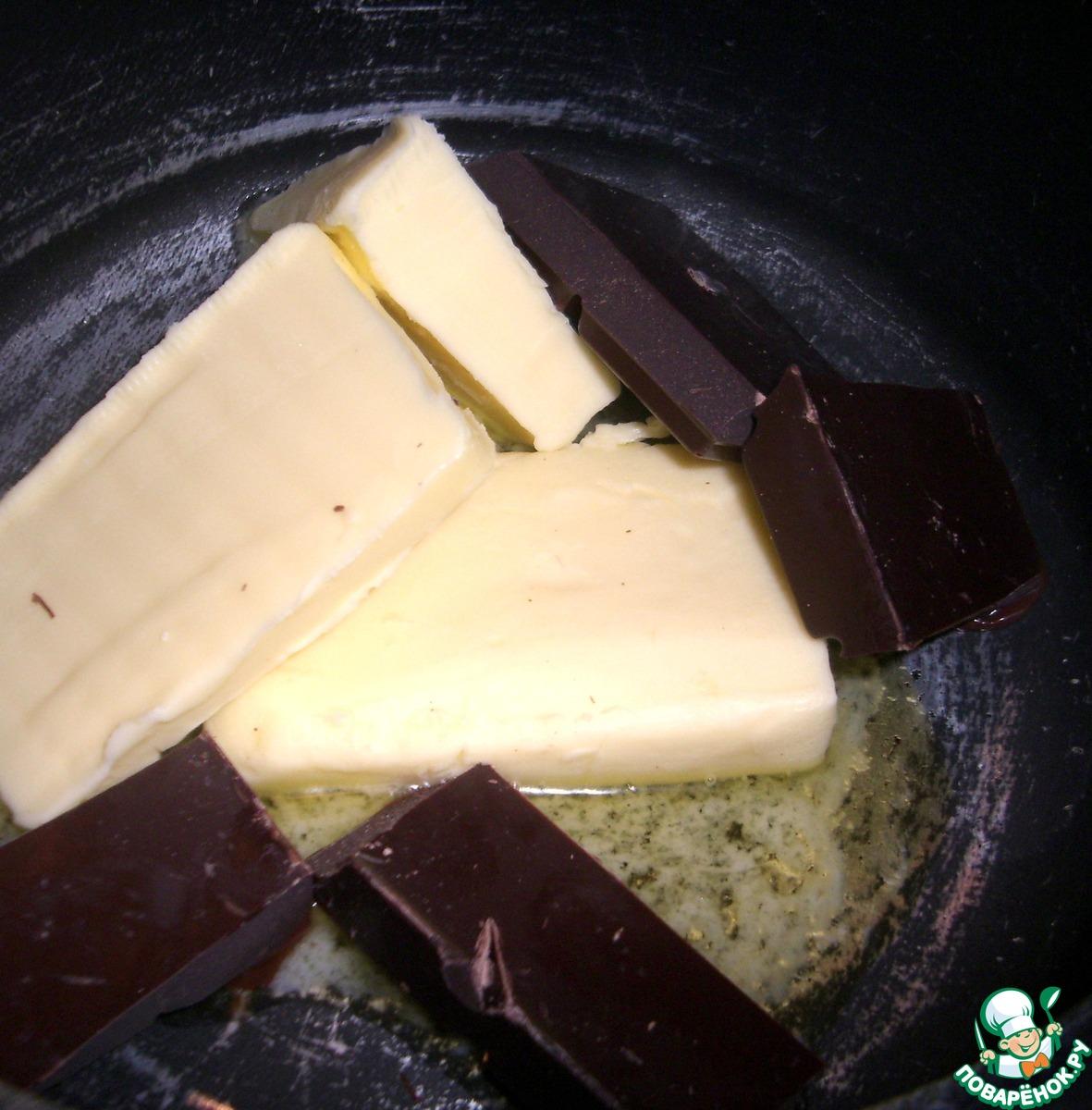 """Шоколадное суфле """"Шоко-эспрессо"""""""
