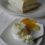 Замороженный творожный торт Наслаждение
