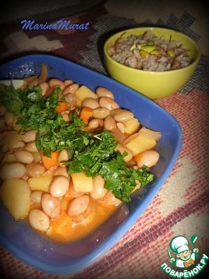К этому блюду турки непременно подают рис. Как готовить турецкий рис, можно найти у меня в рецептах; кто еще не знаком с ним, думаю, оценят...   http://www.povarenok .ru/recipes/show/512  79/