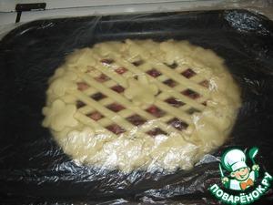Обязательно даем пирогу подняться минут 30.